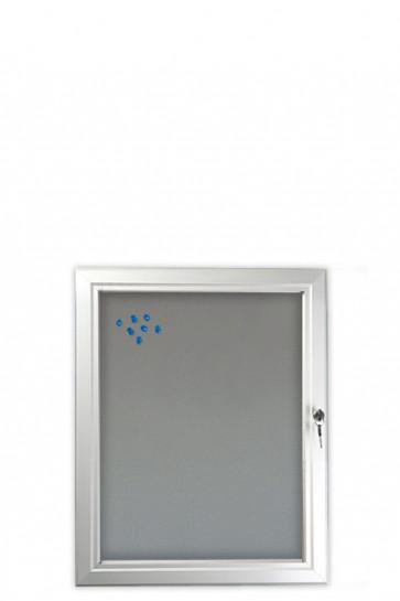 INFOBOX Filz m/Verschluß 4xA4 Alu