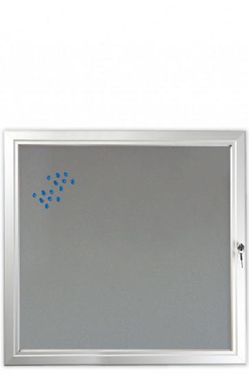 INFOBOX Filz m/Verschluß 12xA4 Alu
