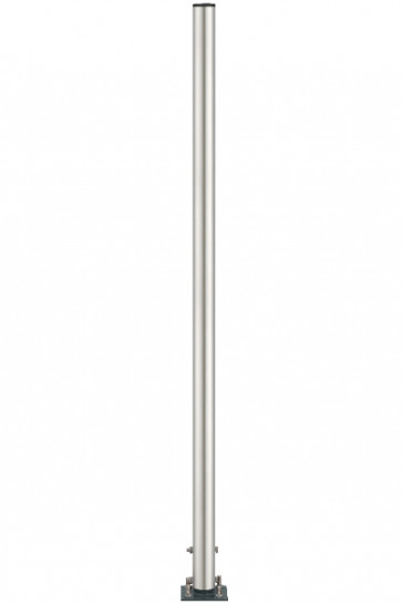 Pole Stand, stainless, 185cm
