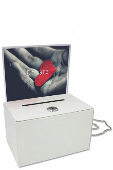 Donation tip box