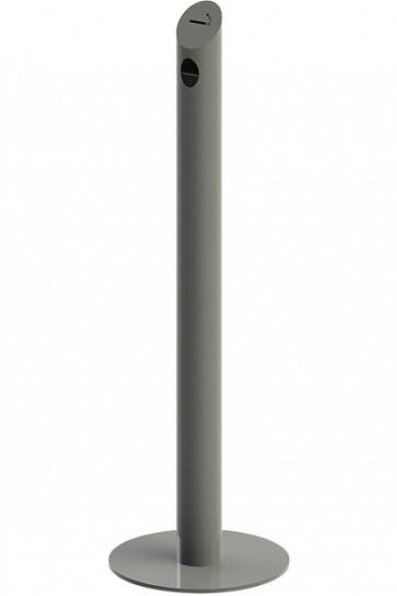 Cigarette Bin Pole - RAL 9007