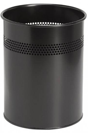 Papierkorb Modell Basic in schwarz, 15 Ltr.