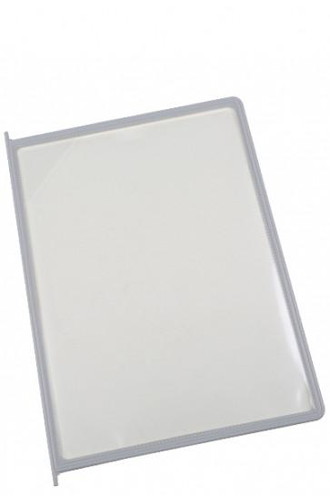Poster Pocket for Reference Racks - 10 pcs. - Grey/Beige
