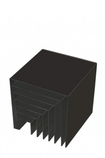 Nesting Shelves x 7 - black
