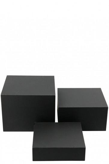Nesting Boxes x 3 - black