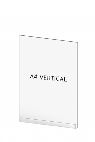 Acrylic Tasche für Crowd Cont.  A4 Vertical