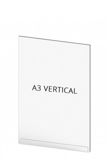 Acrylic Tasche für Crowd Cont.  A3 Vertical