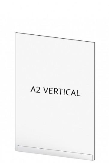 Acrylic Tasche für Crowd Cont.  A2 Vertical