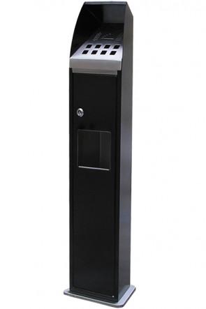 Cigarette tower black