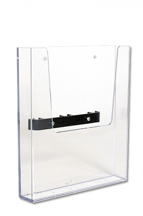 CROWN TRUSS 10x10, Brochure dispenser A4 with fitting