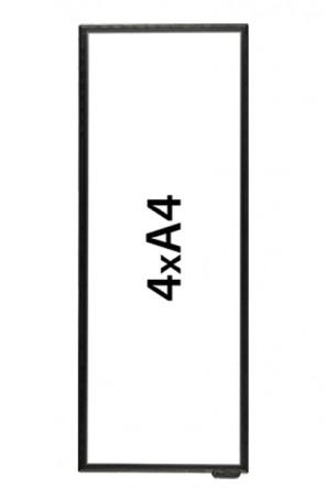 FloorWindo 4xA4 Boden Display
