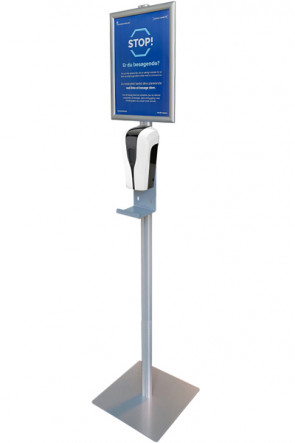 Hand Sanitizer Stand, A4