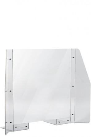 Hygiene Screen, Desk. 90x65cm