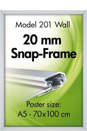 ALU SNAP FRAME 20mm (G) A5 alu