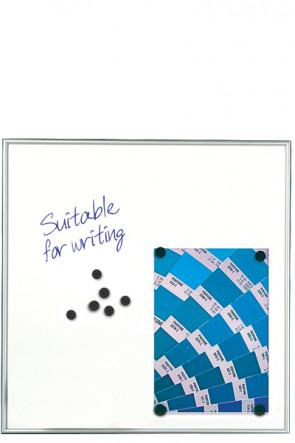 WHITEBOARD Schreibbar und Magnetisch 9mm. 12xA4 Alu