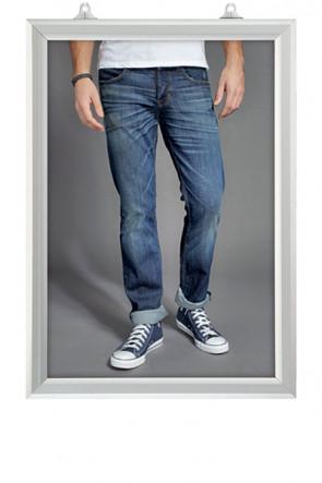 Slide-In Frame 25mm Vertikal 50x70cm Alu
