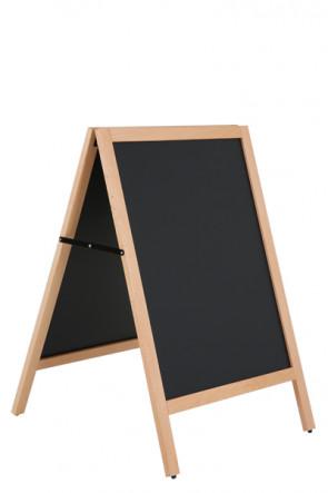 Wooden A-Board Light with Steel Board 46x68cm - Buche
