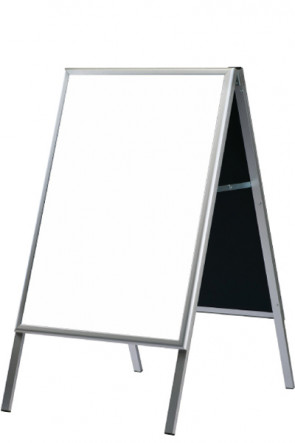 A-board with Whiteboard 60x80cm