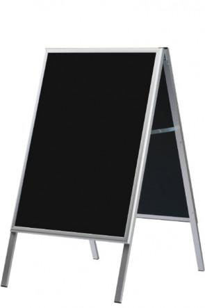A-board mit schwarzer Tafel 60x80cm