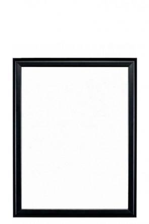 Whiteboard mit schwarzem Rahmen 40x60cm