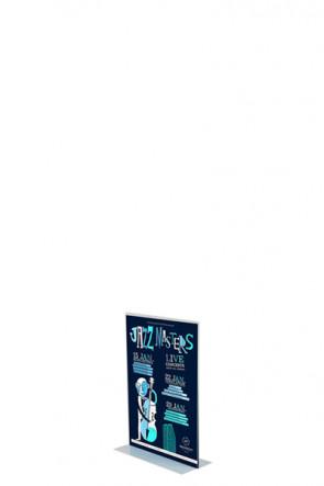 ACRYLIC T-MENU HOLDER Vertikal A8