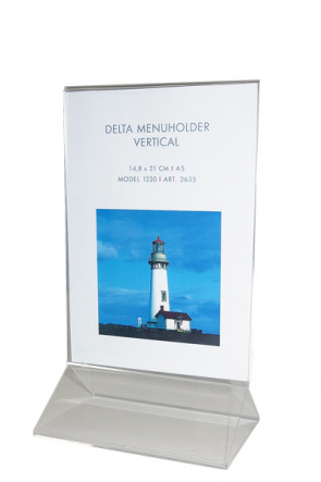 DELTA MENU HOLDER Vertical A5