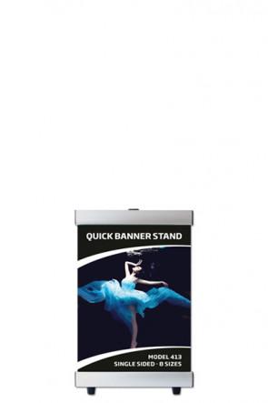QUICK BANNER STAND A4 einseitig