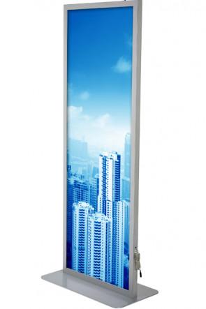 Totem LED Lightstand 59,4x168cm doppelseitig