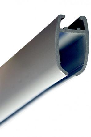 Plast Klemprofil 4cm. für Poster Hanger, klar