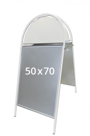 GOTIK Budget Straßenständer 50x70cm weiß