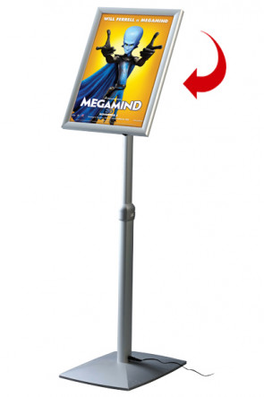 LED Adjustable Menuboard , A3 Gehrung