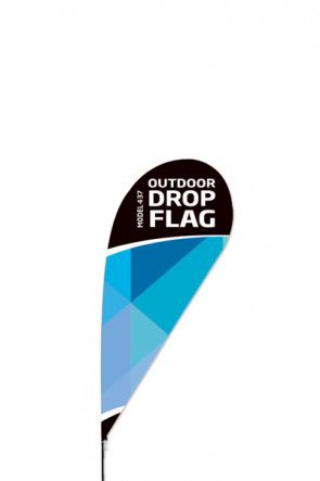 Outdoor Drop Flag - small -