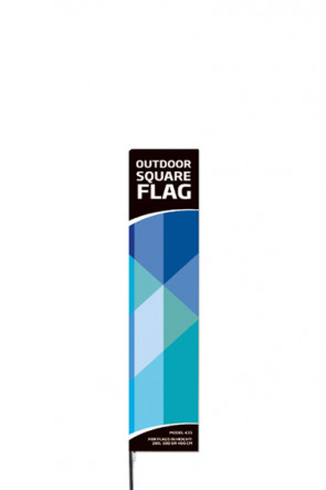 Outdoor Square Flag - Small -