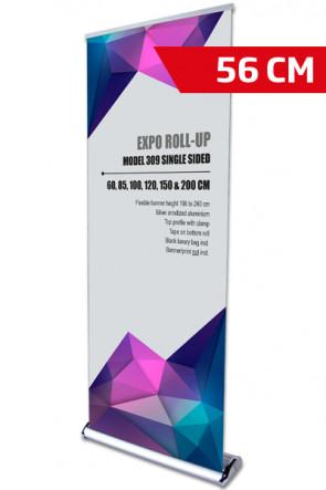 Expo Roll-up, Einseitig Model 56cm - alu