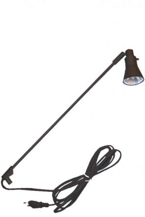 Spotlight 50 W für ROLL-UP - Schwarz