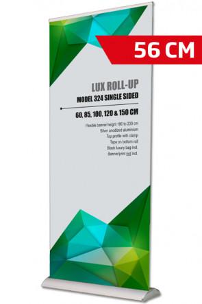 Lux Roll-up, Einseitig Model 56cm - alu