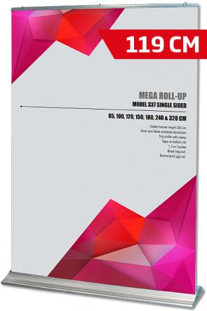 Mega Roll-Up, Model 120 alu