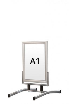 WIND-LINE LUX Straßenständer 45mm (G) A1 alu