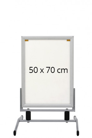 WIND-LINE BASIC Straßenständer 44mm (G) 50x70cm alu