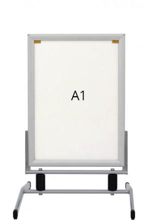 WIND-LINE BASIC Straßenständer 44mm (G) A1 alu