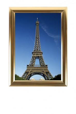 ALU SNAP FRAME 25mm (G) 50x70cm golden anodized - glänzend