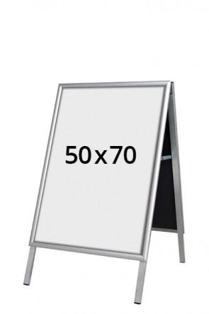 ALU-LINE Budget Kundenstopper 25mm 50x70cm (G) ALU
