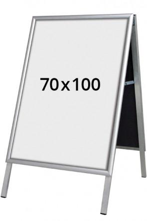 ALU-LINE Budget Kundenstopper 25mm 70x100cm (G) ALU