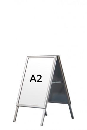 ALU-LINE Kundenstopper 32mm A2 (G) ALU