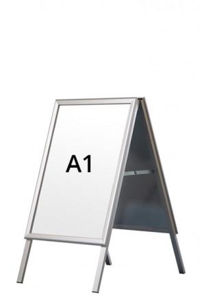 ALU-LINE Kundenstopper 32mm A1 (G) ALU