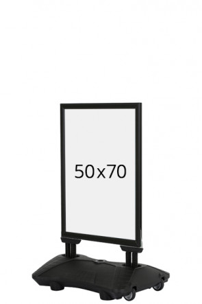 WIND-PRO Waterbase 33mm (G) 50x70cm - schwarz