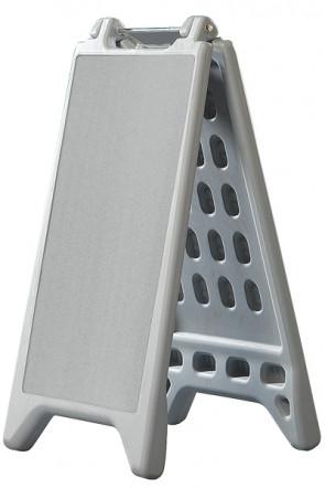 VACU DISPLAY A 327x588mm Grau
