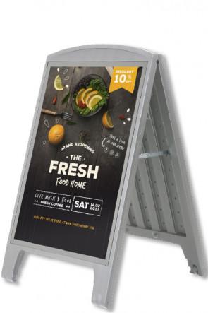 Compact Plast A-board, A1. Grau