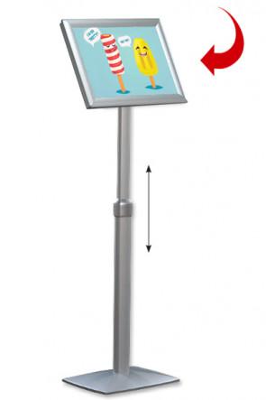 Adjustable Infoboard Flex A3 Gehrung