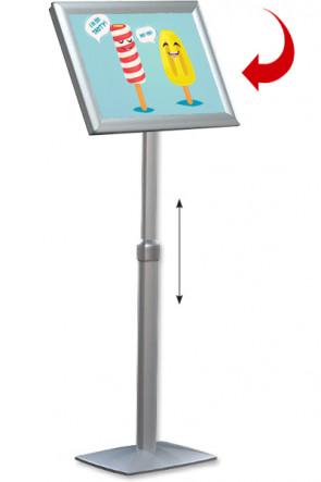 Adjustable Infoboard Flex, A2 Gehrung
